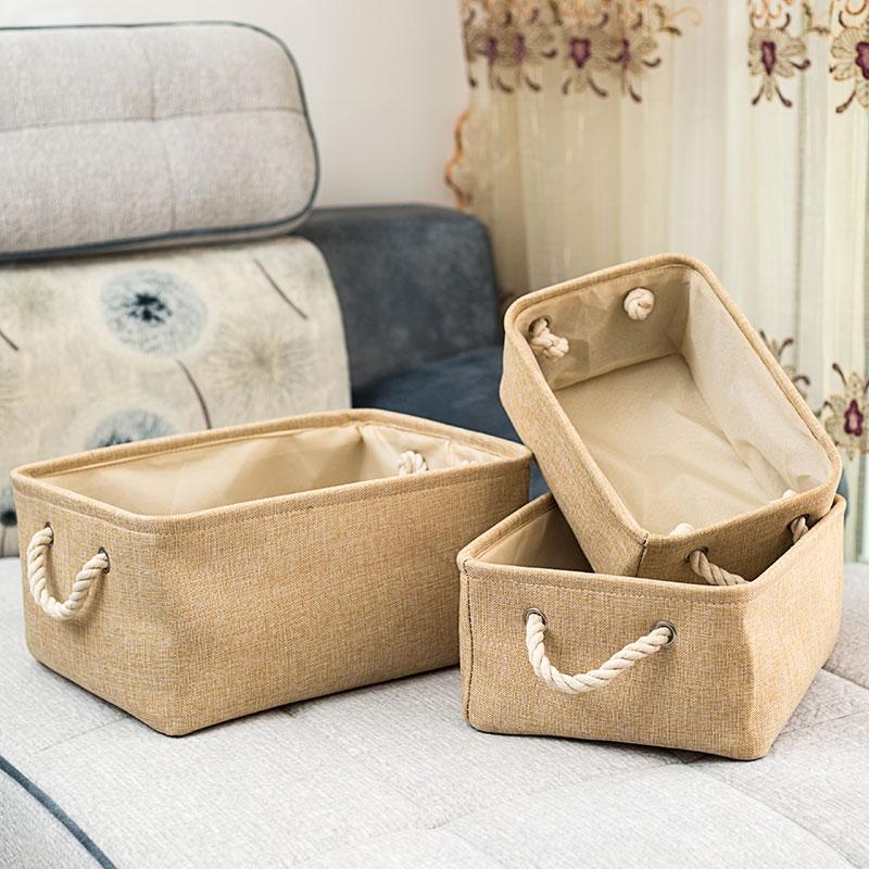 Foldable Linen Storage Basket