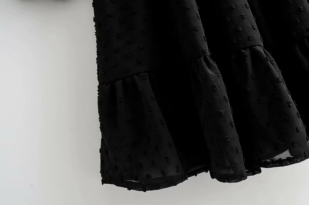 Women's Ruffle Skirt Mini Dress