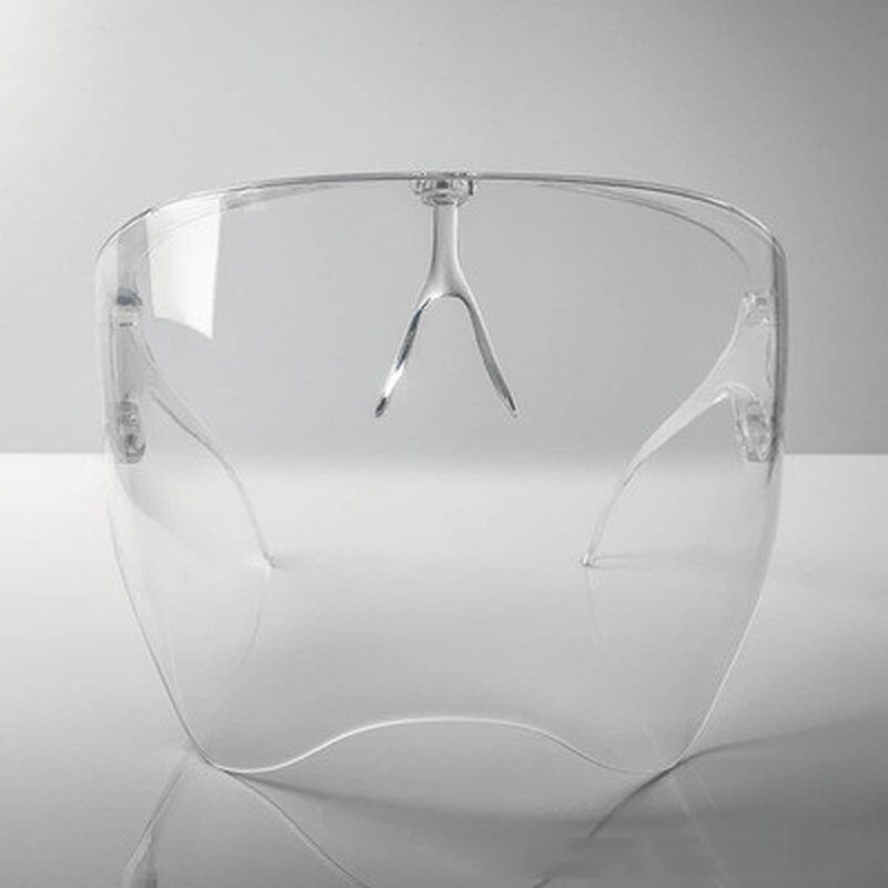 Stylish Transparent and Colourful Anti-Fogging Face Shield