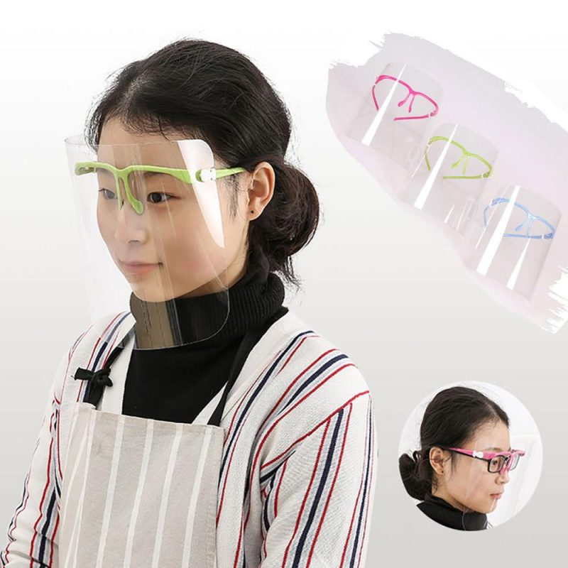 Transparent Detachable Face Shield (10 pack)