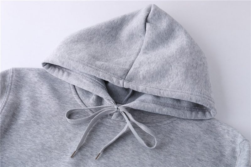 Casual Plain Solid Color Hoodie