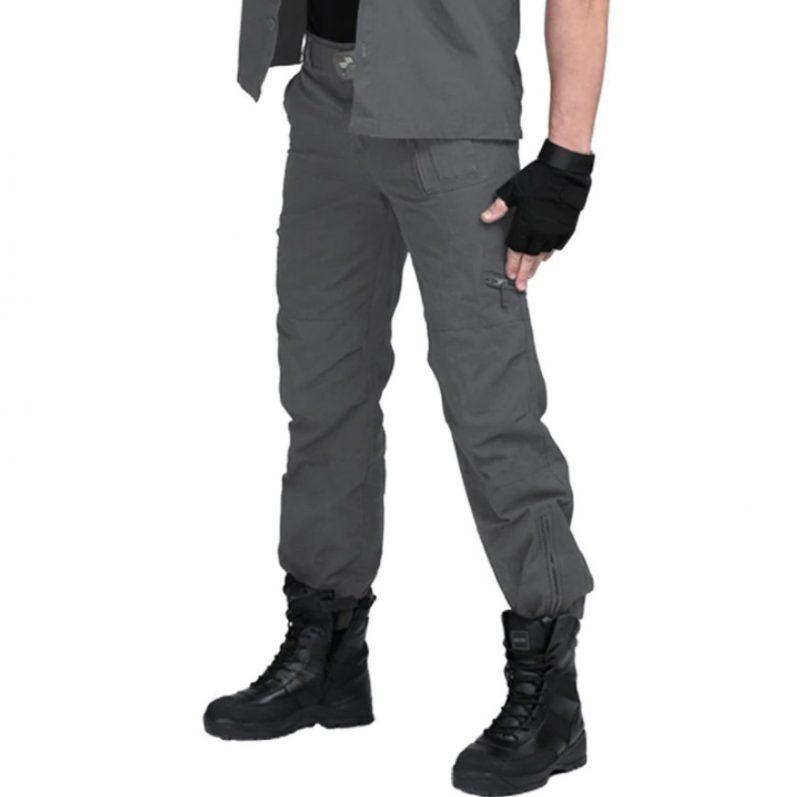 Military Style Multi Pocket Cargo Pants