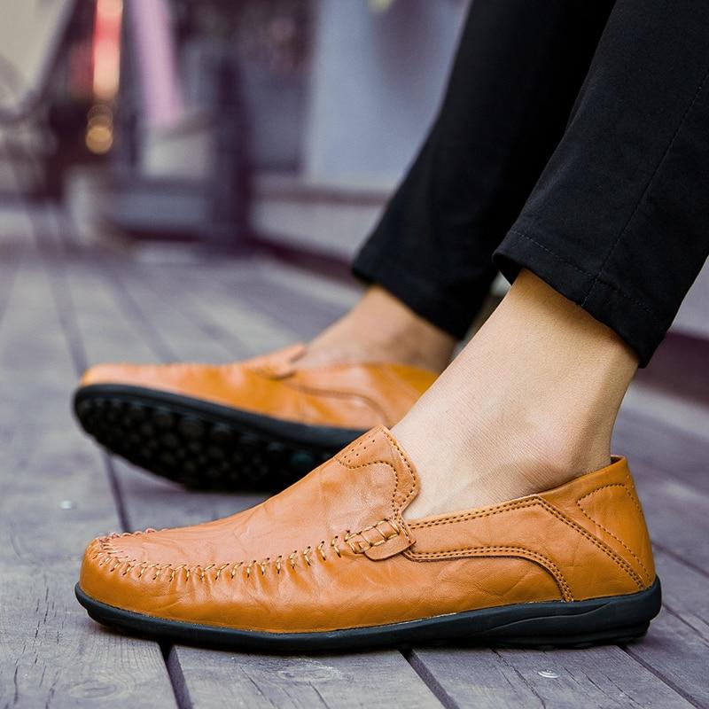 Genuine Leather Italian Casual Shoes