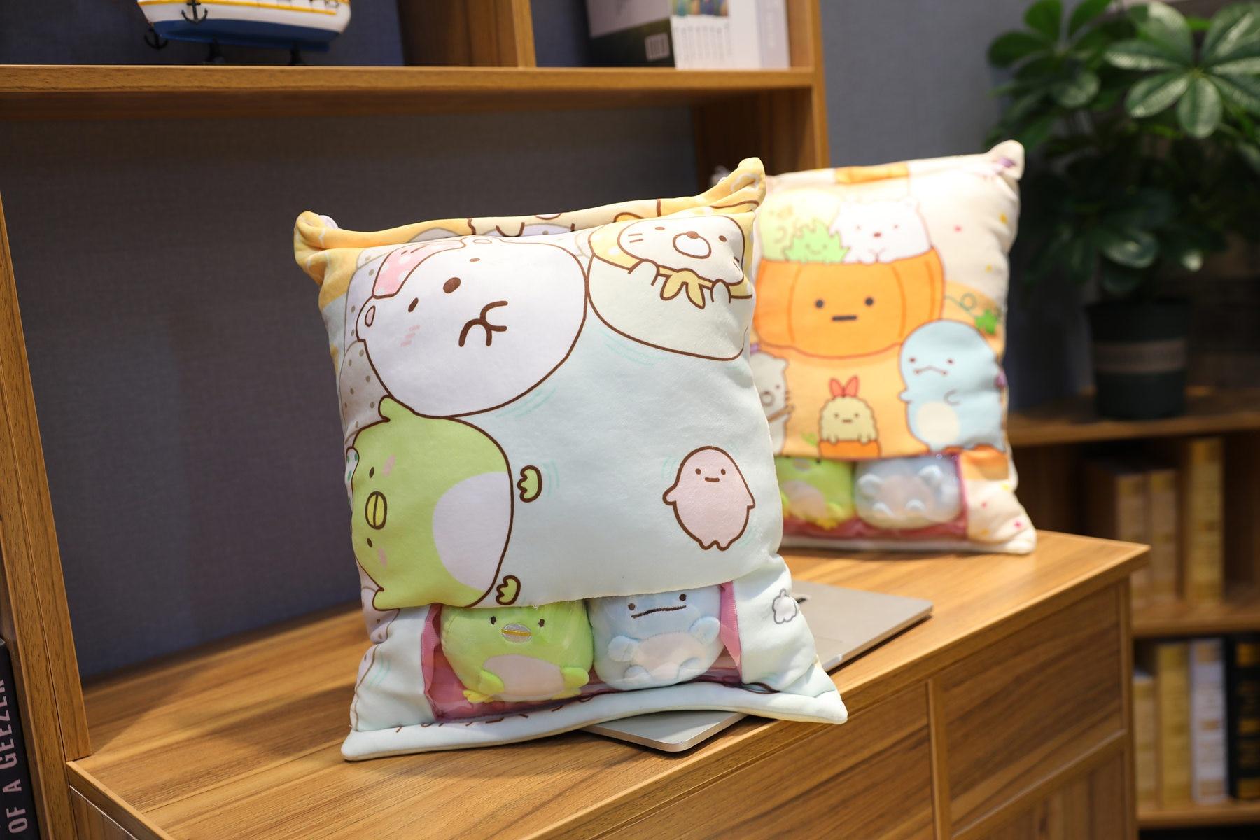 Plush Kawaii Anime Soft Stuffed Pillows