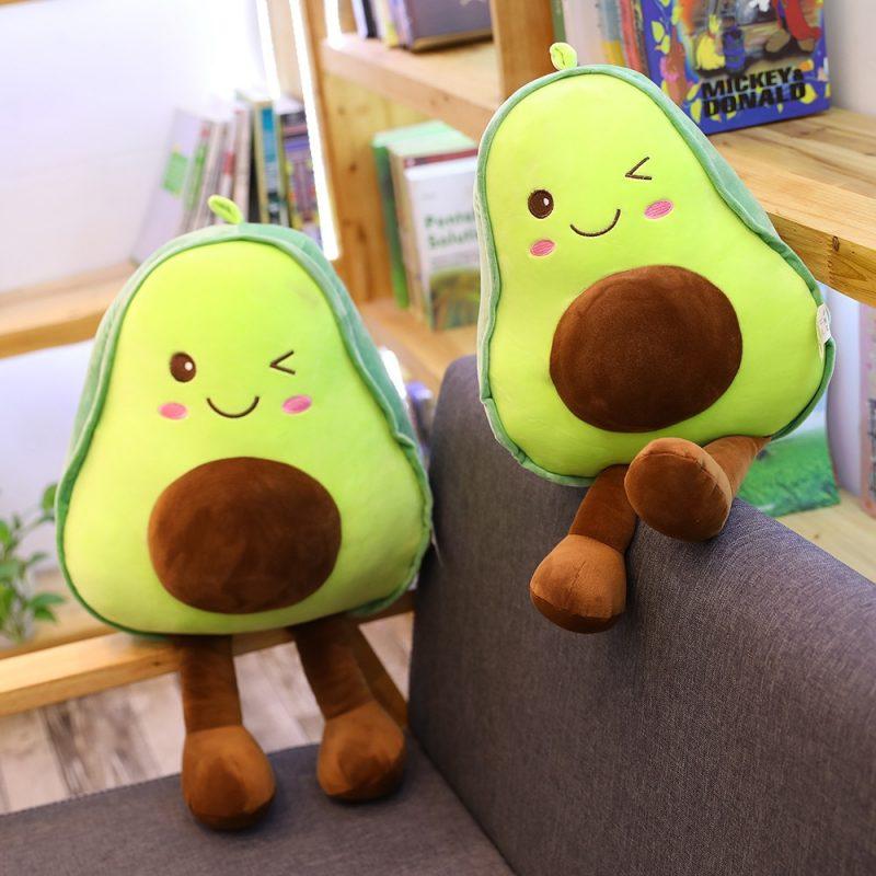 Super Soft Avocado Pillow Plush Toy